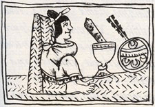 Pic 3: Chocolate for the Aztecs was toe-itchingly tasty... Florentine Codex, Book 6