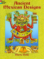 Ancient Mexican Designs colouring book (Dover)