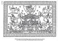 B/W illustration from Codex Borgia