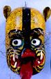 Aztec tiger mask (Photo: Sean Sprague)