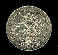A Mexican coin