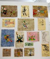Junior work on codices, Wexford School, Querétaro