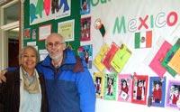 Mexicolore at Sir John Sherbrooke Junior School, Calverton, Nottingham