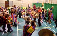 La Raspa 'in full swing' at The Beacon School!