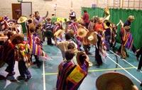 La Raspa 'in full swing' at The Beacon School!