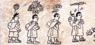 Pic 18: Aztec sacred bundle carriers