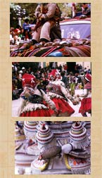 Pic 19: Abuse of armadillos: scenes from Oruro's Diablada carnival in Bolivia, 1975