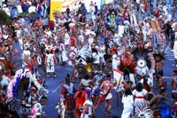 Pic 17: A large Concheros troupe in performance