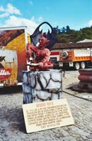 Pic 2: Effigy in Antigua, Guatemala, for the 'Quema del Diablo' (Devil Burning), December 2003