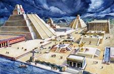 The city of Tenochtitlan