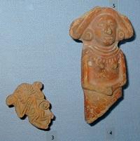 Aztec pieces, Brighton Museum