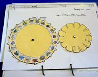 A personal Aztec calendar at Fynamore Primary School