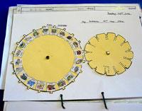 A personal Aztec calendar at Fynamore Primary School