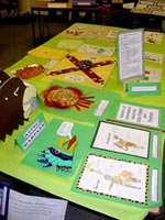'Aztec Museum' at Notre Dame Junior School, Lingfield
