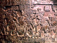 Detail from the original Tizoc Stone