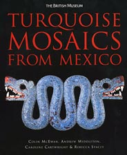 'Turquoise Mosaics from Mexico' book cover