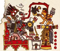 Picture 8: Tlahuizcalpantecuhtli, Codex Borgia