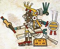 Picture 9: Tlahuizcalpantecuhtli, Codex Fejérváry-Mayer