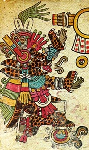 Tepeyollotl-Tezcatlipoca in the Codex Borbonicus