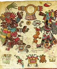 Codex Borbonicus, p.3