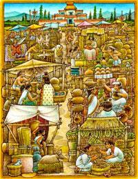 Illustration by Felipe Dávalos (can you spot the runaway?!)
