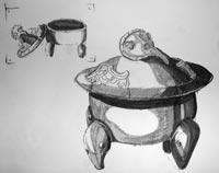 'Incense pot' 2006