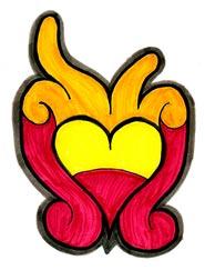 'Aztec heart' 2006