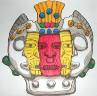 'Aztec mask' 2006