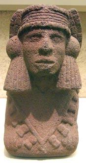 Picture 2: Chalchiuhtlicue wearing a quechquémitl, British Museum