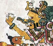 Picture 2: Close-up in the Codex Borgia