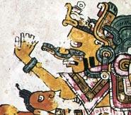 Picture 2: Close-up in the Codex Borgia