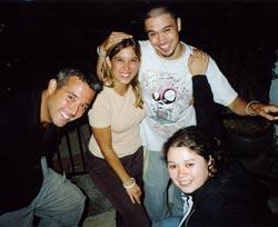 Paulo, Romy, Phillip, Maria