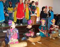 Brighton children go Aztec!