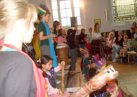 'Aztec' music may not be everyone's cup of tea, but much fun was had by all...