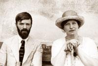 Pic 4: The Lawrences at Chapala, 1923