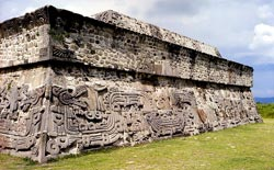 Pic 9: The Pyramid of the Serpents at Xochicalco
