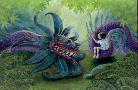 Pic 14: Manga, Aztec-style! 'Quetzal' © Caroline Kintzel/Nadine Schmitt