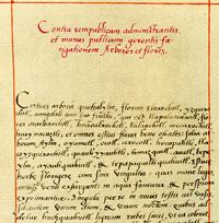Pic 3: Part of the Aztec recipe for 'The Traveller's Safeguard' (Codex Badianus)