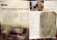 News report in the Feb/Mar 2007 issue of 'Current World Archaeology'