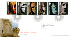 Pic 8: 2003 commemorative stamps, British Museum's 250th. anniversary
