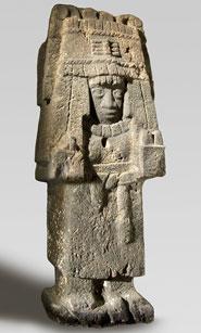 Pic 3: Aztec Maize Goddess sculpture, Philadelphia Museum of Art