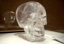 Rock crystal skull, British Museum