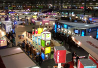 Part of the huge BETT 2007 educational technology exhibition