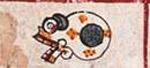 Pic 6: Ce Miquiztli (One Death), Codex Borgia