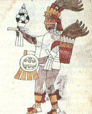 Pic 8: Tezcatlipoca depicted in the Florentine Codex