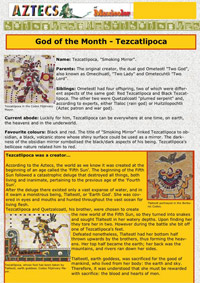 Page 1 of 5 of the full Tezcatlipoca downloadable feature