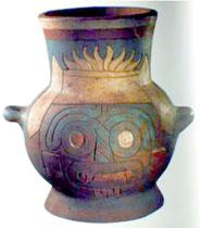 Pic 4: Tlaloc vase, Templo Mayor Museum