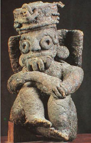 Pic 5: Sculpture of Tlaloc