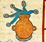 Pic 7: Water symbol, Codex Borbonicus
