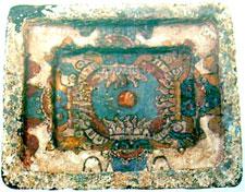 Pic 9: This sacred box contains images of the Tlaloque. Museo Nacional de Antropología, Mexico City.